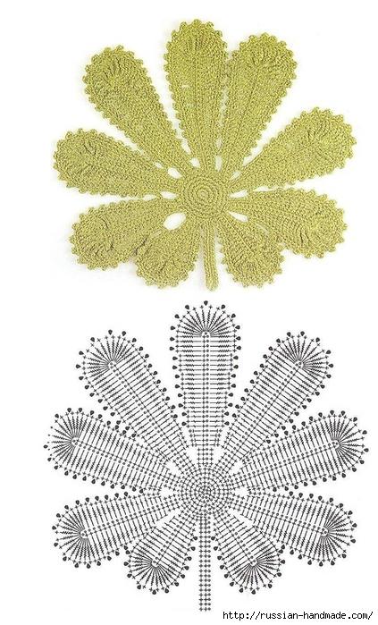 схемы листиков крючком (63) (423x700, 243Kb)