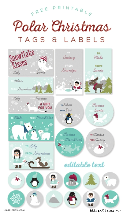 Free_Printable_Polar_Christmas_Tags_Labels (402x700, 177Kb)
