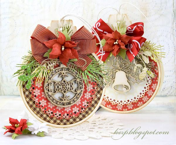 Скрапбукинг новогодние цветы своими руками 62