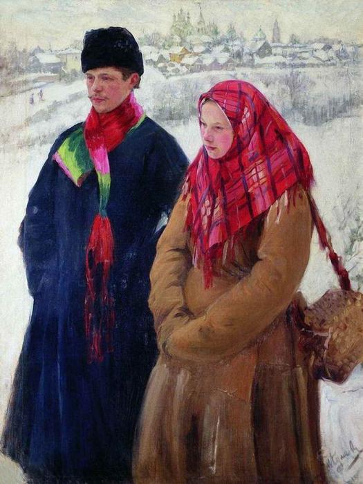 5107871_Vozvrashenieizgoroda_1914 (525x700, 288Kb)