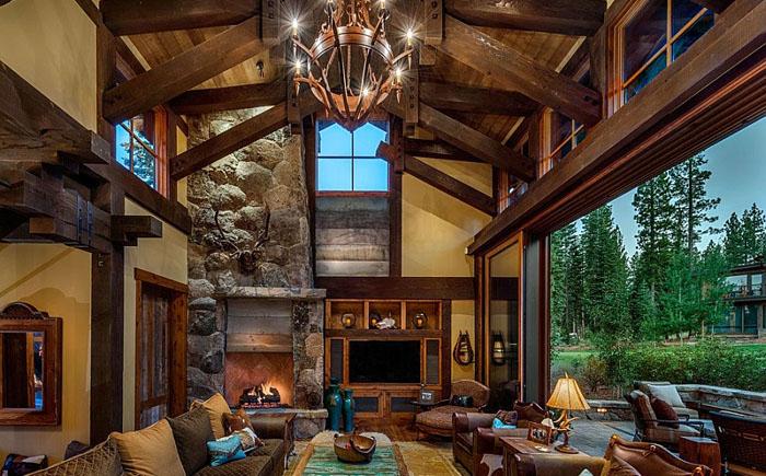 красивый деревянный дом 2 (700x435, 351Kb)