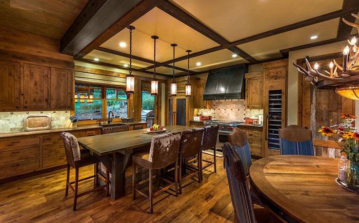 красивый деревянный дом 4 (700x435, 311Kb)