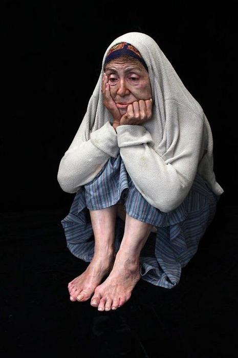 реалистичные скульптуры Марк Сиян 1 (465x700, 185Kb)