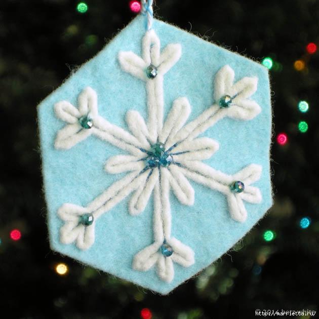 Снежинки из фетра. Шьем сами (1) (630x630, 167Kb)