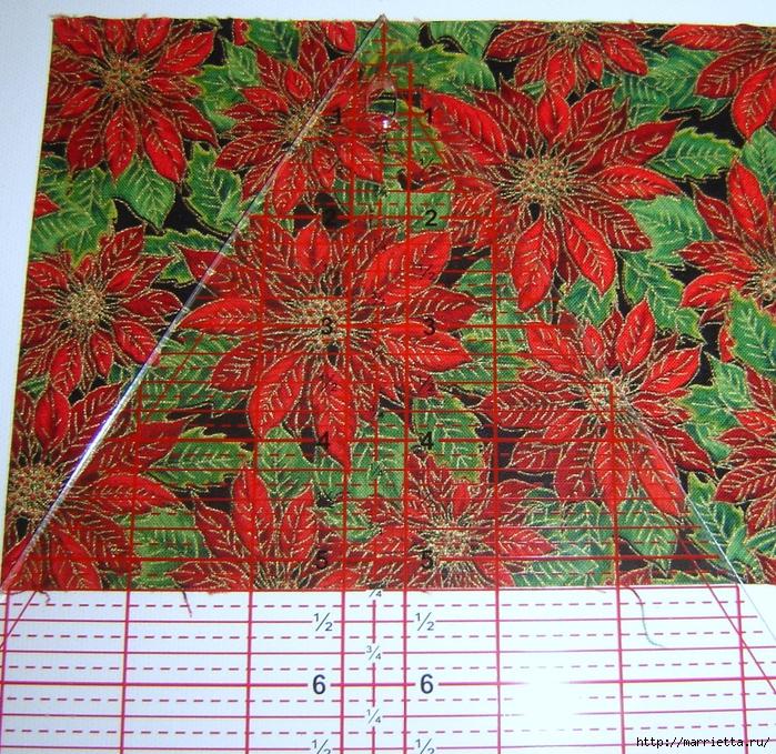 текстильная подвеска елочка в технике оригами (4) (700x679, 599Kb)