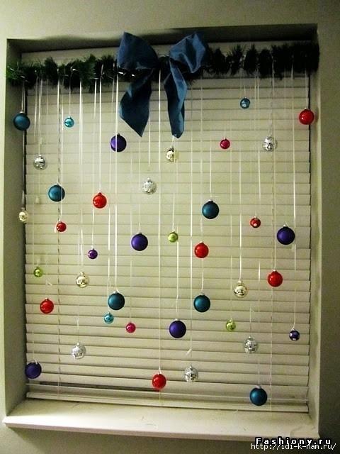 Как оформить кабинет к новому году своими