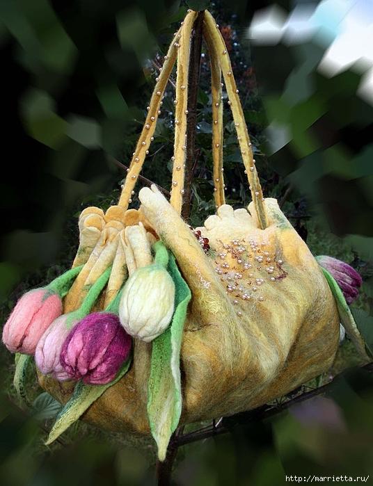 Сказочные сумки в технике валяние от Екатерины Тасминской (13) (536x700, 287Kb)