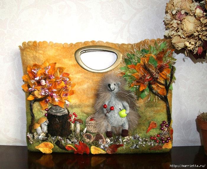 Сказочные сумки в технике валяние от Екатерины Тасминской (29) (700x571, 411Kb)