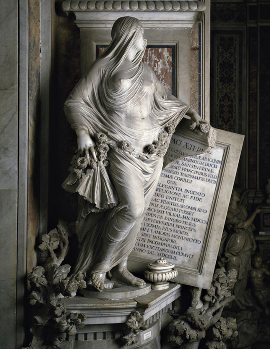 мраморные скульптуры Antonio Corradini 1 (541x700, 398Kb)