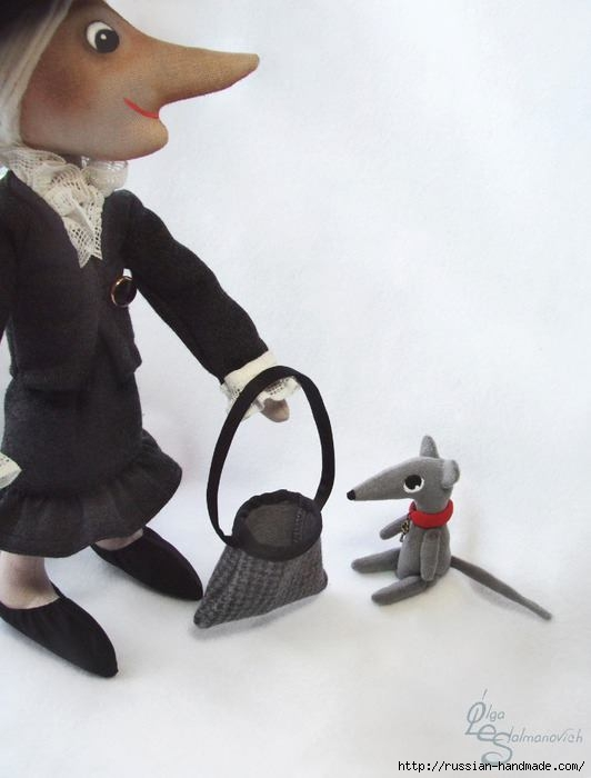 Шапокляк и крыска Лариска. Выкройки (2) (532x700, 106Kb)