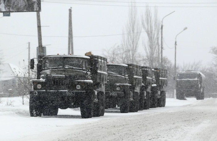 Зима. Новороссия.