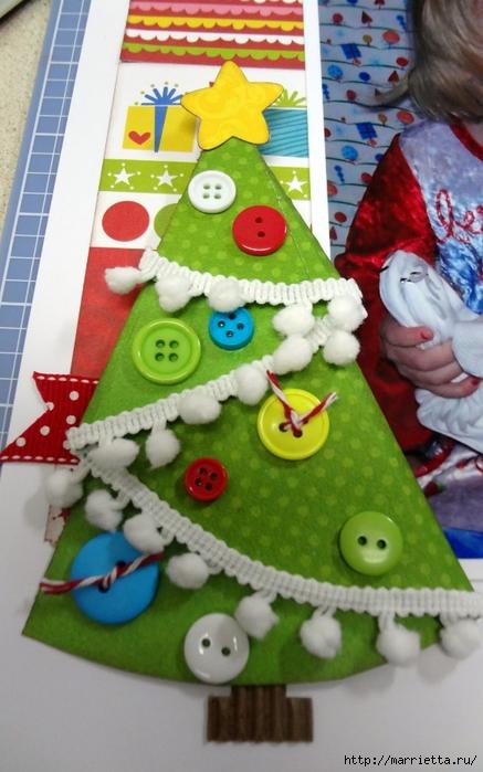 пуговицы для создания новогодних открыток и украшений (20) (437x700, 243Kb)