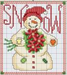 Превью вышивка snowman2010 (624x700, 482Kb)