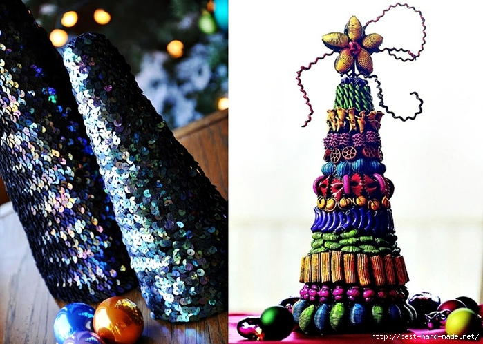 Christmas tree  toppers - Jewelry, sequins Christmas Tree  (700x498, 302Kb)