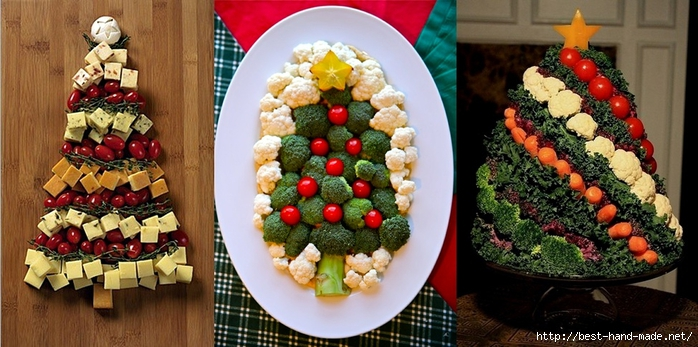Christmas trees Veggie Christmas Tree (700x347, 241Kb)