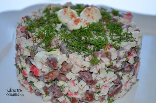 Быстрый салат рецепт с фото
