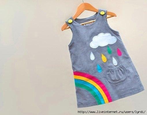 Идеи платье для девочки