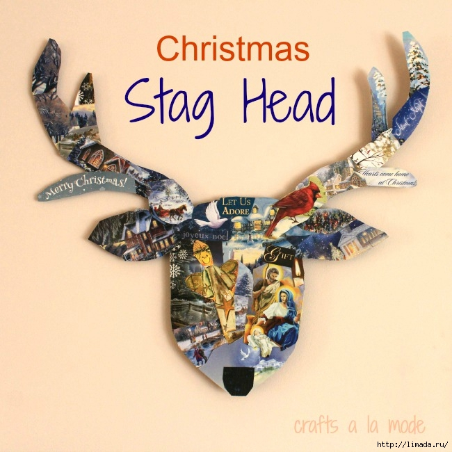 stag head 650words (650x650, 245Kb)