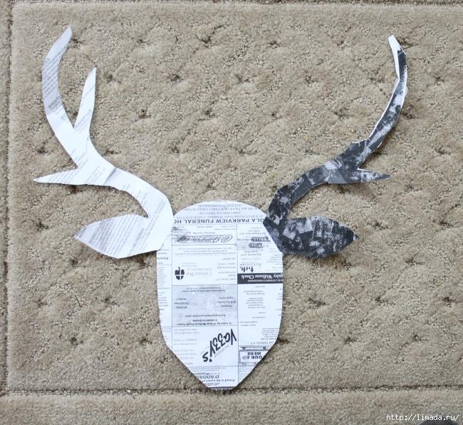 stag head pattern (650x596, 360Kb)