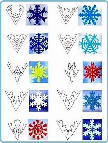 Как сделать снежинки для сайта