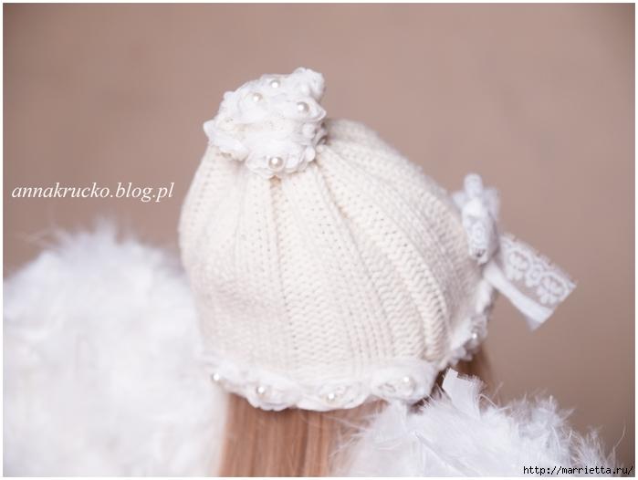 Рождественский АНГЕЛ из папье-маше (7) (700x526, 166Kb)