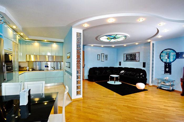 Все о стиле хай-тек в гостиной комнате (1) (700x467, 228Kb)