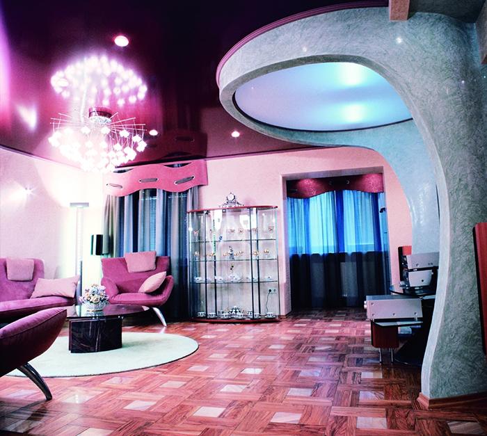 Все о стиле хай-тек в гостиной комнате (3) (700x627, 609Kb)