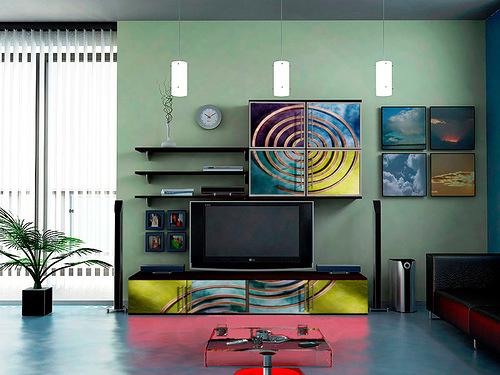 Все о стиле хай-тек в гостиной комнате (11) (500x375, 182Kb)