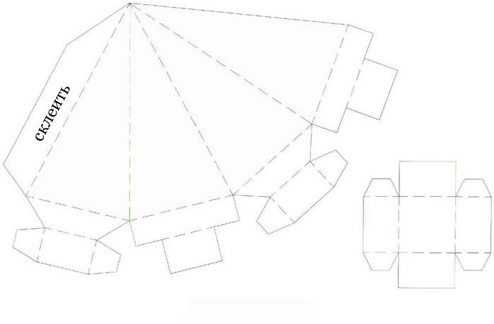 коробочки для подарков шаблон 18 (699x459, 67Kb)