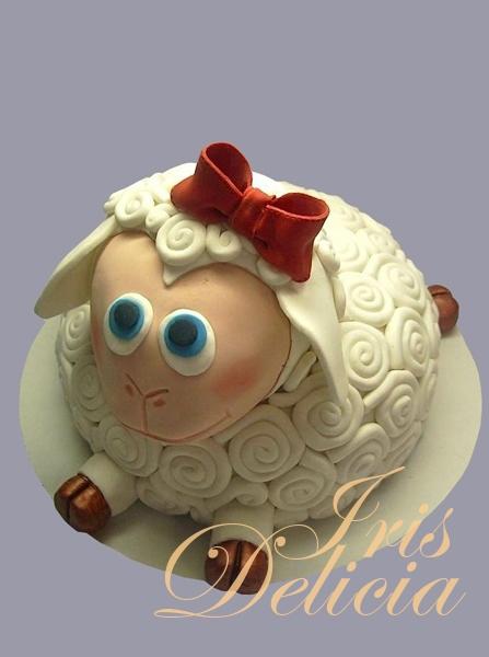 торт в виде овечка рецепты с фото