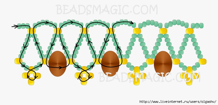 free-beading-tutorial-necklace-2 (700x337, 132Kb)