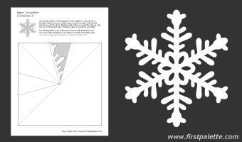 шаблоны снежинок из бумаги (3) (340x200, 5Kb)