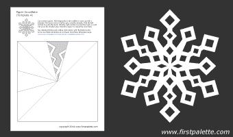 шаблоны снежинок из бумаги (4) (340x200, 5Kb)