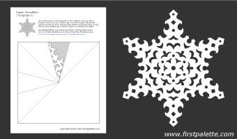 шаблоны снежинок из бумаги (6) (340x200, 5Kb)