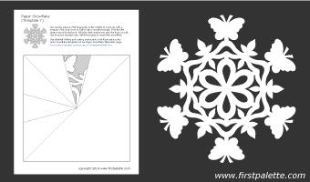 шаблоны снежинок из бумаги (7) (340x200, 6Kb)