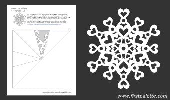 шаблоны снежинок из бумаги (10) (340x200, 5Kb)