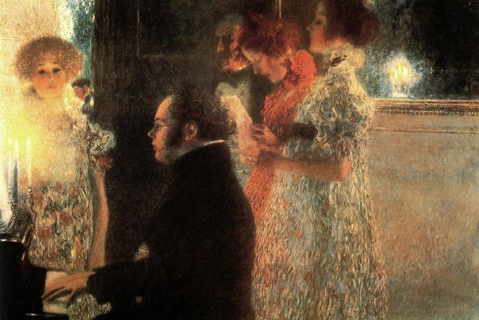 Gustav Klimt  ������ �� ���������� 1899 (700x468, 261Kb)