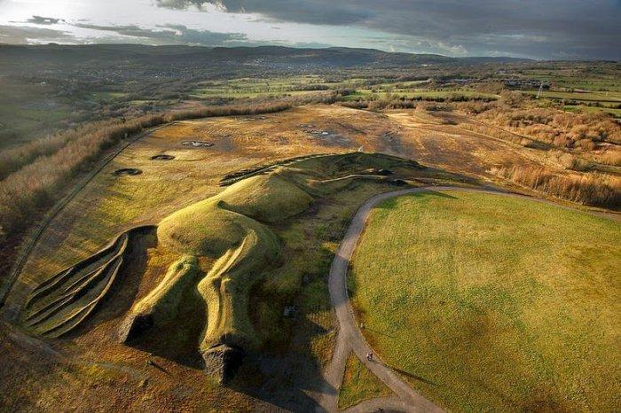 скульптура лошади из угля англия 6 (700x466, 341Kb)