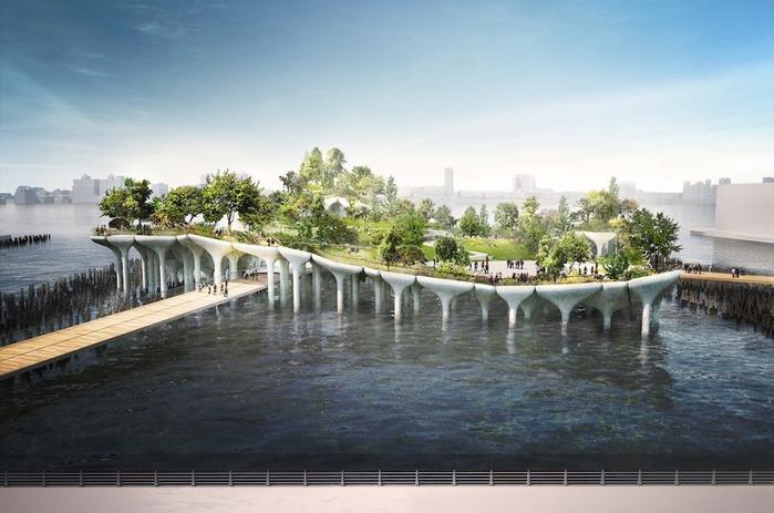 городской парк в нью-йорке пирс 55 2 (700x463, 289Kb)