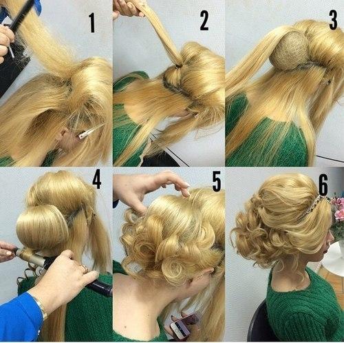 Как сделать причёски своими руками на свадьбу