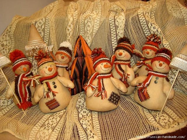 Кофейные снеговики к Новому году. Мастер-класс (1) (640x480, 368Kb)