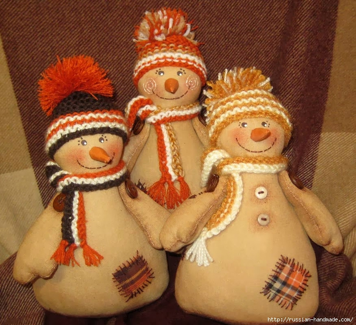 Кофейные снеговики к Новому году. Мастер-класс (3) (700x639, 361Kb)