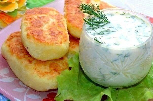 Картофельные оладьи с сыром (604x400, 36Kb)
