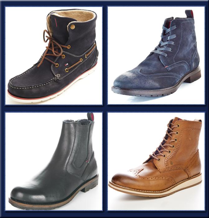 Дизайнерские ботинки от американского бренда Tommy Hilfiger. (671x700, 479Kb)