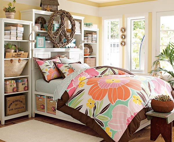 Ideas for teenage girl bedroom designs