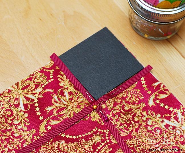 Шитье текстильной корзинки для конфет (17) (650x539, 386Kb)