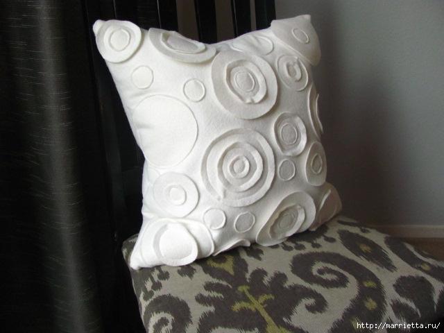 Декоративные подушки из фетра и войлока (2) (640x480, 154Kb)
