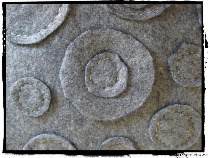 Декоративные подушки из фетра и войлока (20) (700x528, 342Kb)