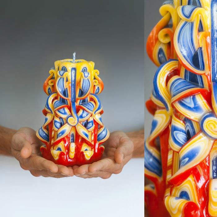 резные свечи ручной работы 1 (700x700, 221Kb)
