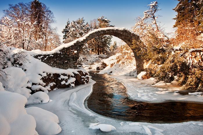 ручей в Шотландии